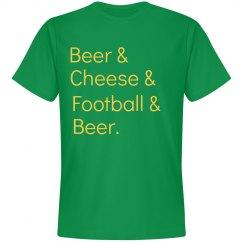 Beer Cheese Football