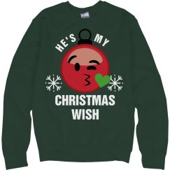 Emoji Christmas Wish Couple 1