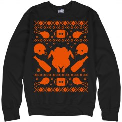 Turkey Drinking Sweater