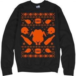 Turkey Drinking Sweater