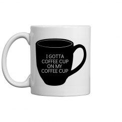 Coffee Cup On Coffee Cup