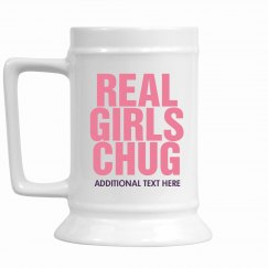 Real Girls Chug Beer