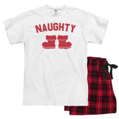 Naughty Xmas Family Pajamas