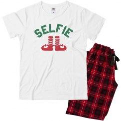 Selfie Christmas Family Pajamas