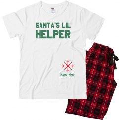 Santa's Helper Family Pajamas