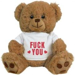 Fuck You Anti-Valentine's Bear