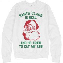 Santa Claus Is Real And He Tried