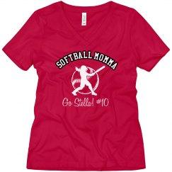 Softball Mom Tee