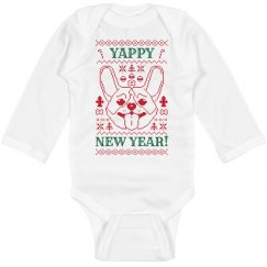 Yappy New Year Bodysuit