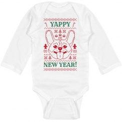 Yappy New Year Bodysuit