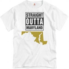 Straight Outta Maryland T-Shirt