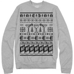 Beer Ugly Xmas Sweater