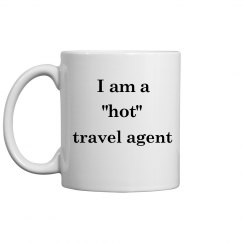 Hot Travel Agent Mug