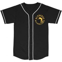 Mesh Baseball Jersey (Black)