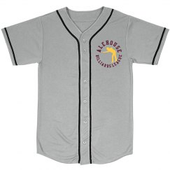 Mesh Baseball Jersey (Gray)