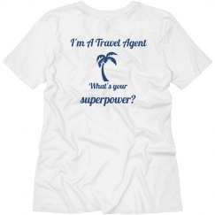 Superpower - blue writing