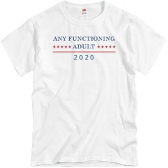 I'd Like Any Functioning Adult 2020