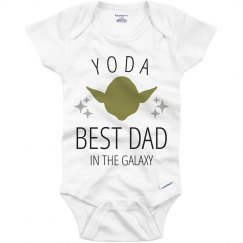 Yoda Best Dad Onesie