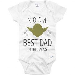 Yoda Best Dad Onesie