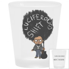 LUShift Manifesto Frosted Shot Glass