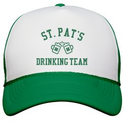 St Pats Drinking Team Hat
