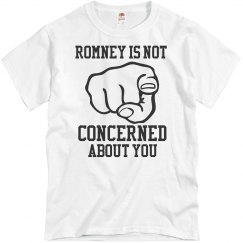 Romney Not Concerned