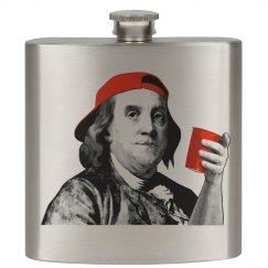 Benjamin Franklin Flask