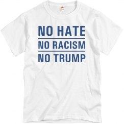 No Hate No Racism No Trump