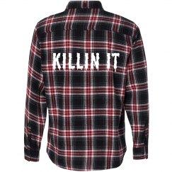 Flannel Killin' It