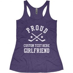 Custom Proud Hockey Girlfriend