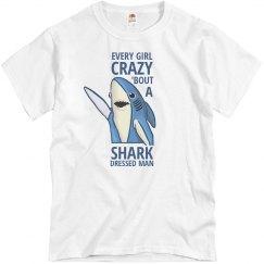 Shark Dressed Man