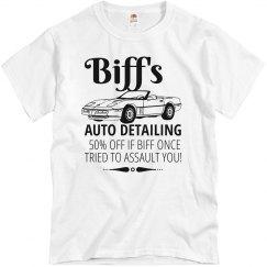 Biff's Half Off Discount