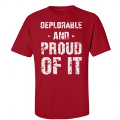 I'm A Deplorable And Proud Of It