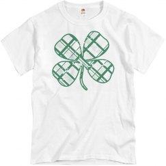 Trendy Irish Clover St Patricks