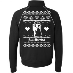 Just Married Ugly Christmas Jacket