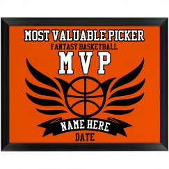 MVP Plaque