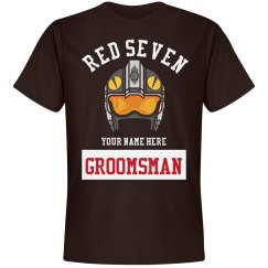 Groomsman Red Seven