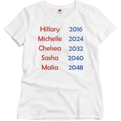 Hillary Clinton 2016 / Michelle Obama 2024
