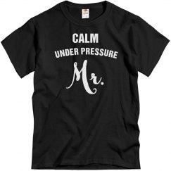Calm under pressure mr