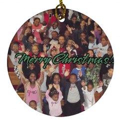 E.P.I.C. 4:13 - Christmas Ornament