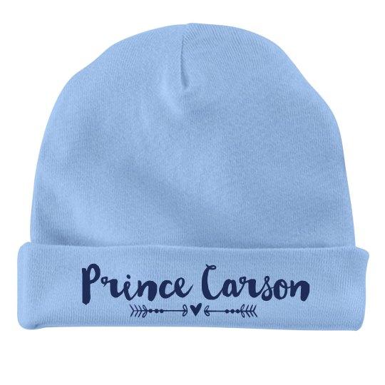 Baby Boy Prince Carson