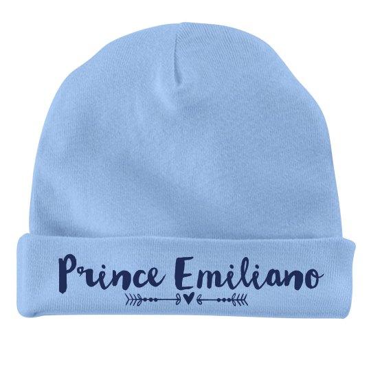 Baby Boy Prince Emiliano