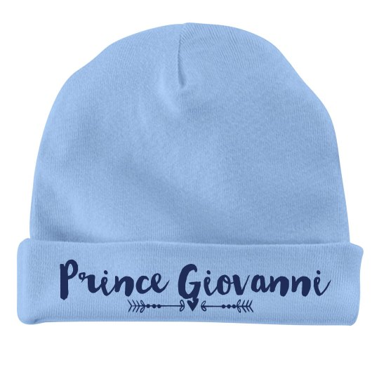 Baby Boy Prince Giovanni