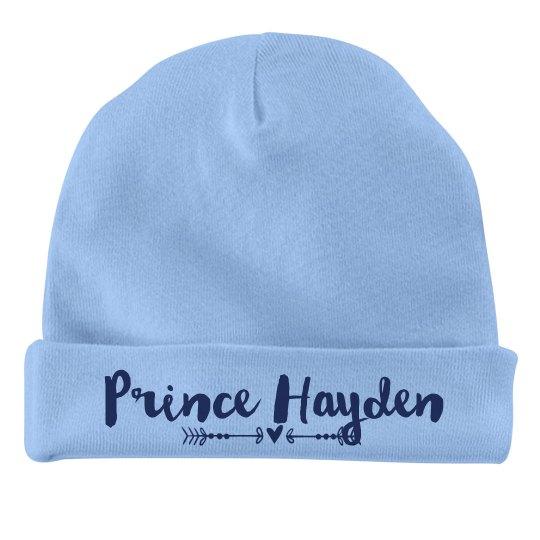 Baby Boy Prince Hayden