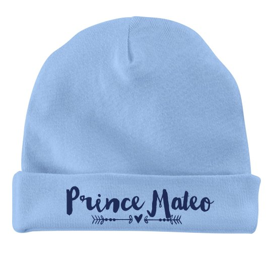 Baby Boy Prince Mateo