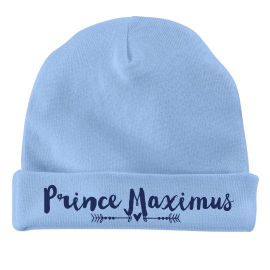 Baby Boy Prince Maximus
