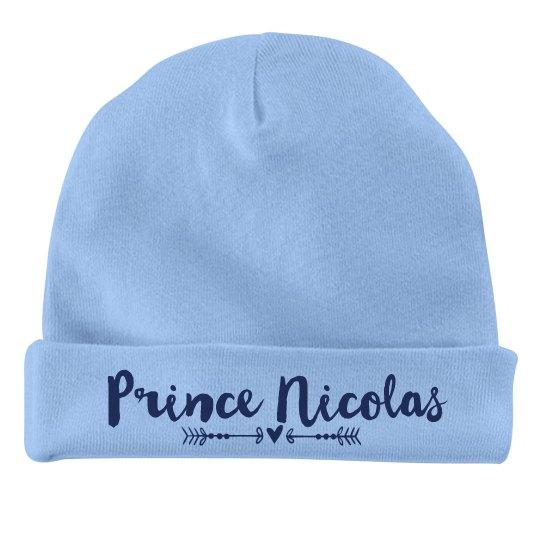 Baby Boy Prince Nicolas