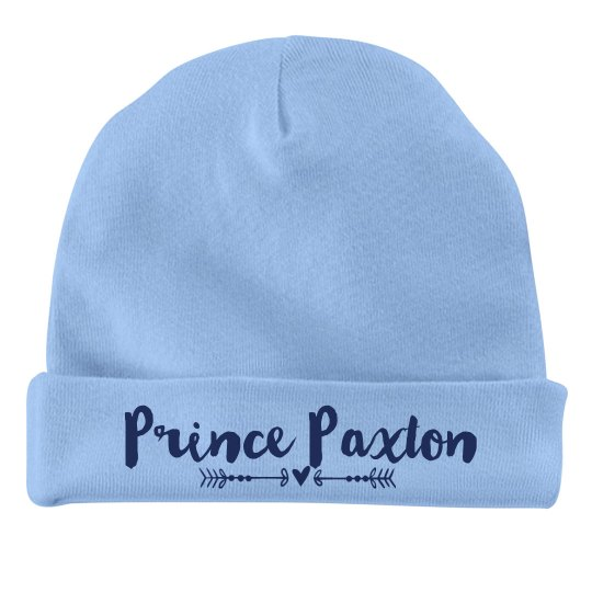 Baby Boy Prince Paxton