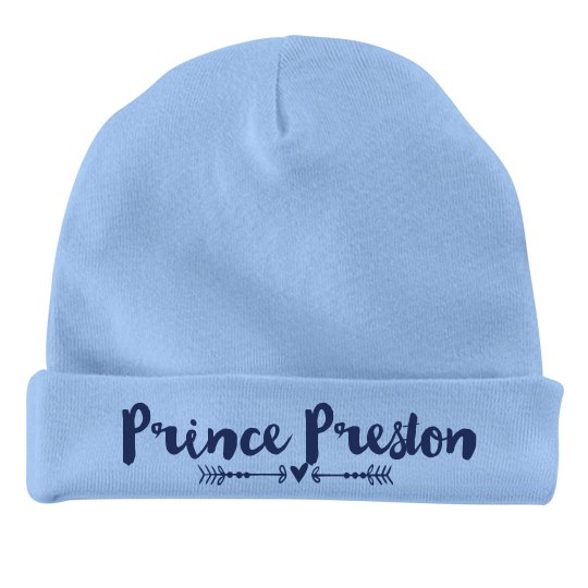 Baby Boy Prince Preston