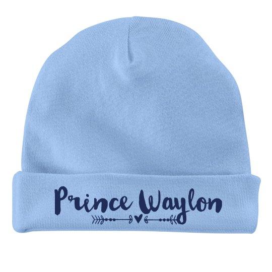 Baby Boy Prince Waylon